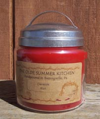16 ounce Mercantile Jar Candle